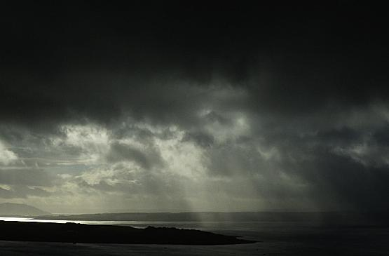 Storm in the Firth of Clyde
