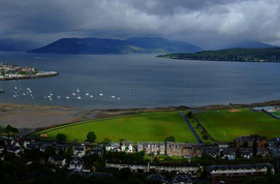Gourock viewed from Craig'sTop