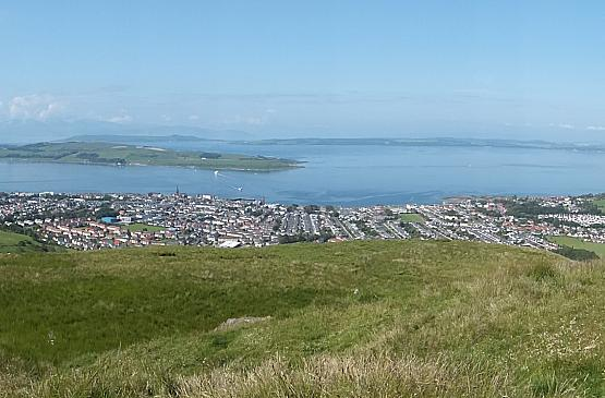 Panoramic View of Largs